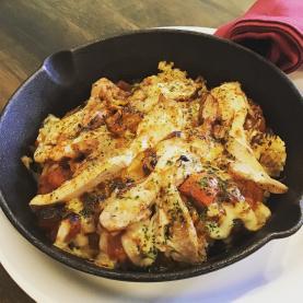 ラ・マンチャ風チキンと野菜のドリア