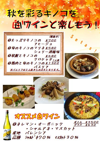 キノコのイベント!!